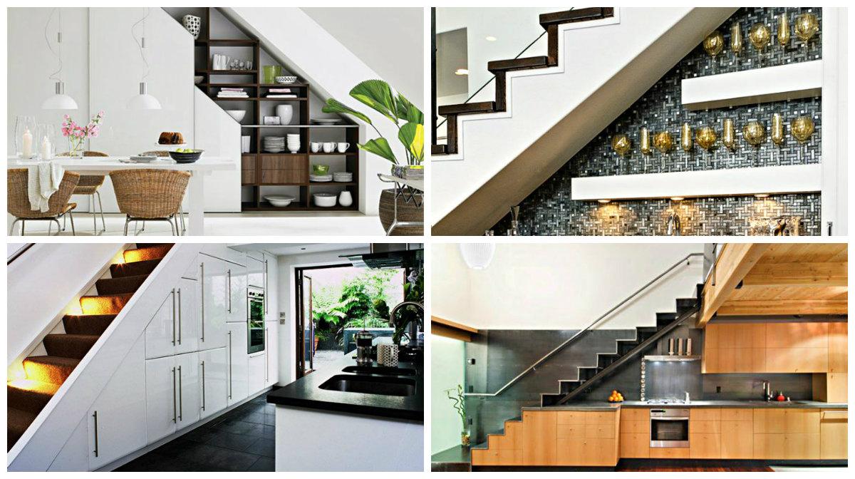15 ideja kako iskoristiti prostor ispod stepenica