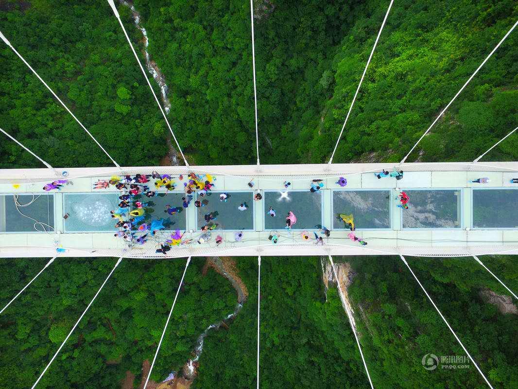 Otvoren najviši i najduži stakleni most na svijetu