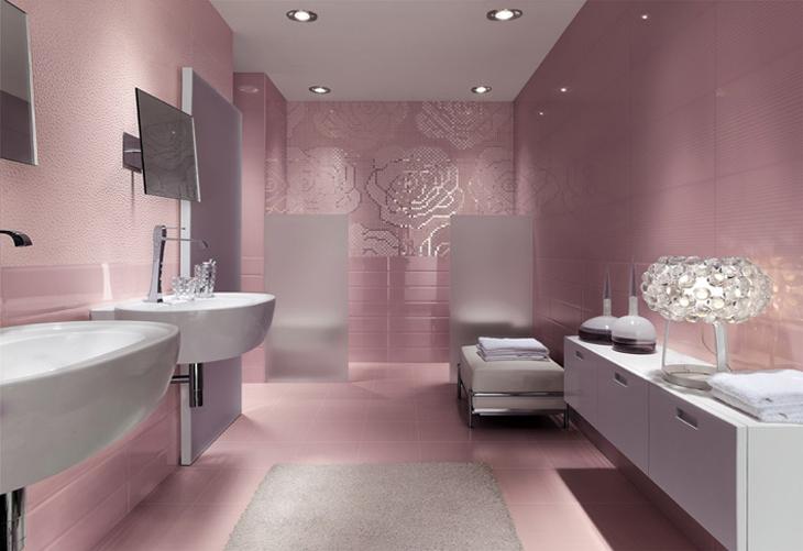 Savjeti za odabir plo ica u kupatilu - Salle de bain romantique photos ...