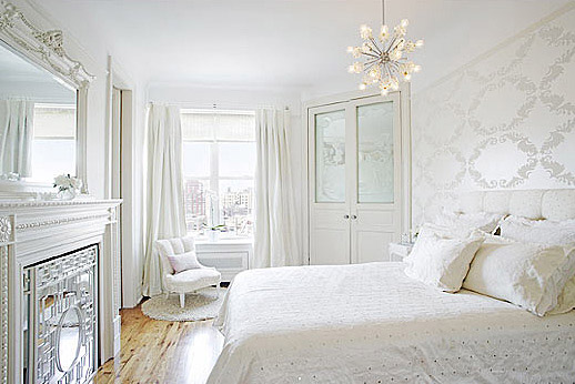 Najljep e bijele spava e sobe for Master arredamento interni