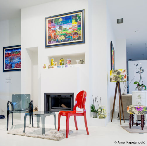 Modernes Einrichtungsplaner 3 Wohnzimmer Stil: Stil Udobne I Moderne Italije