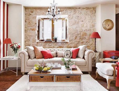 Preure enje stare kamene ku e for Decoracion rustica para living