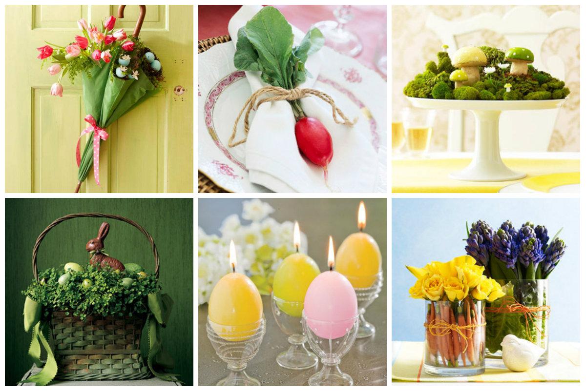 Uskršnji dom: jednostavne i jeftine ideje