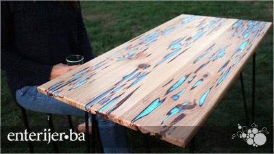 Napravite sami stol koji svijetli u mraku