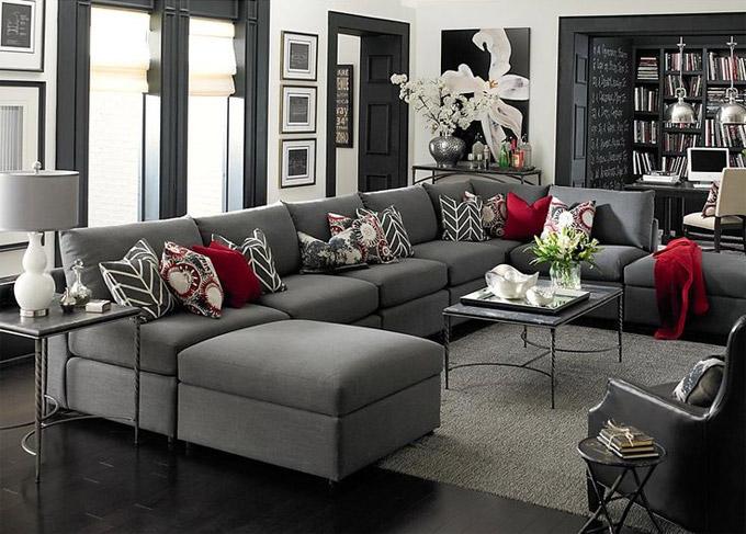 odaberite stil za ure enje dnevnog boravka. Black Bedroom Furniture Sets. Home Design Ideas