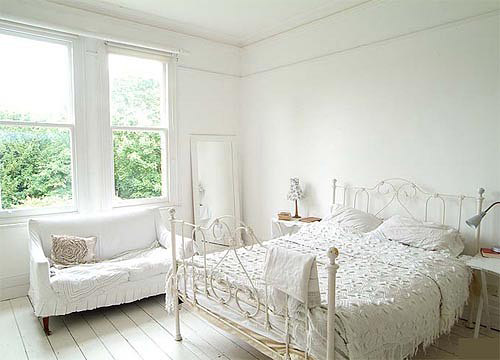 Najljepše bijele spavaće sobe
